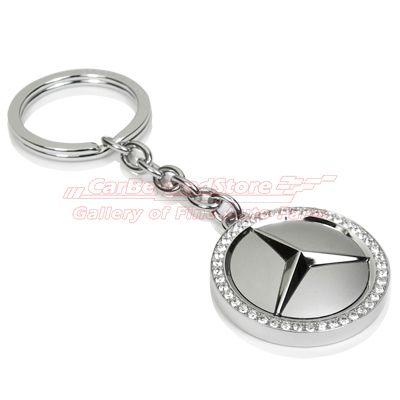 Mercedes benz swarovski key chain gifties for Mercedes benz tire chains