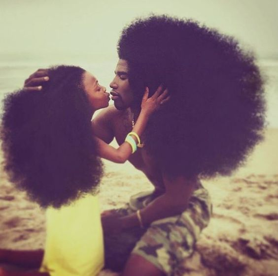 This Father And Daughter Team Are Natural Hair Goals For Us All [Gallery]  Read the article here - http://www.blackhairinformation.com/general-articles/playlists/father-daughter-team-natural-hair-goals-us-gallery/