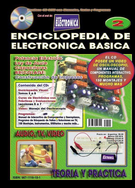 Enciclopedia De Electrónica Basica Electronicsdevices Eletronica Basica Circuito Eletrônico Componentes Eletronicos