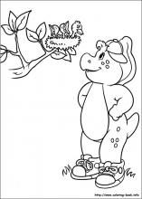 Fresh Barney Coloring Book 52 Barney and Friends coloring