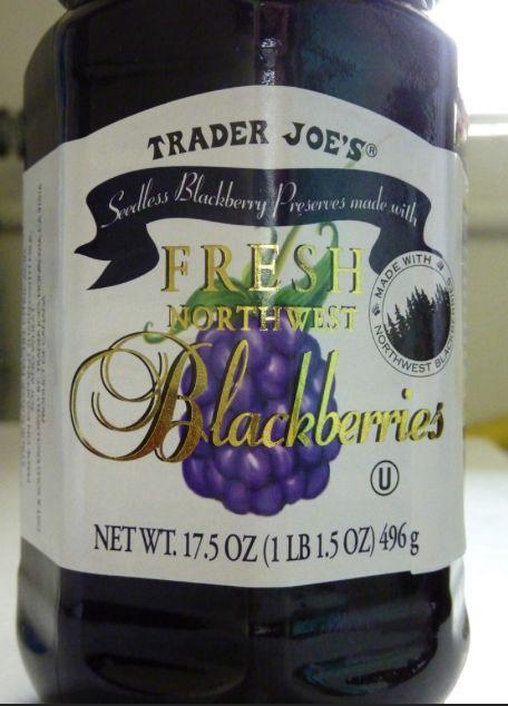 Trader Joe's Blackberry preserves