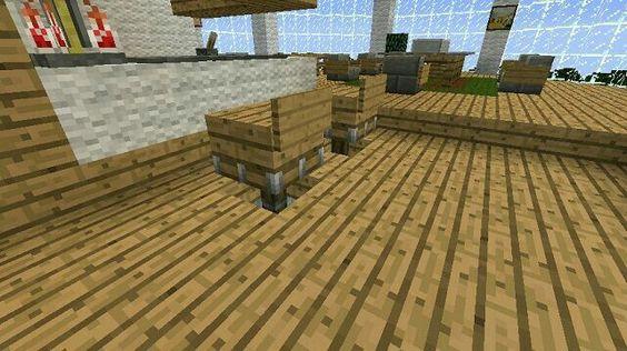 Minecraft seats