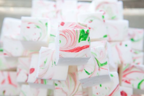 SWEET Peppermint Mallows. Along with Gingerbread, Peppermint is a mallow flavour we reserve for this special time of year.