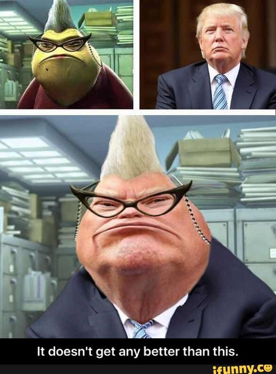 donald trump monster inc - Google Search: