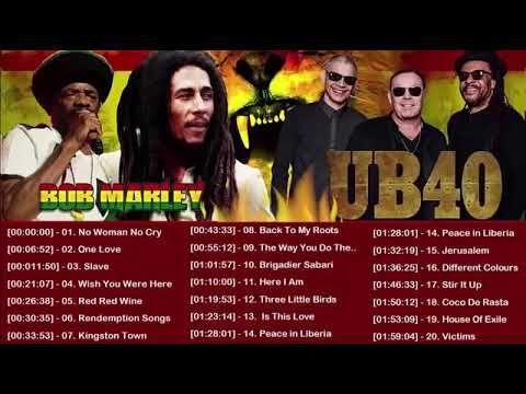 Bob Marley Lucky Dube Ub40 Burning Spear Alpha Blondy Top 50