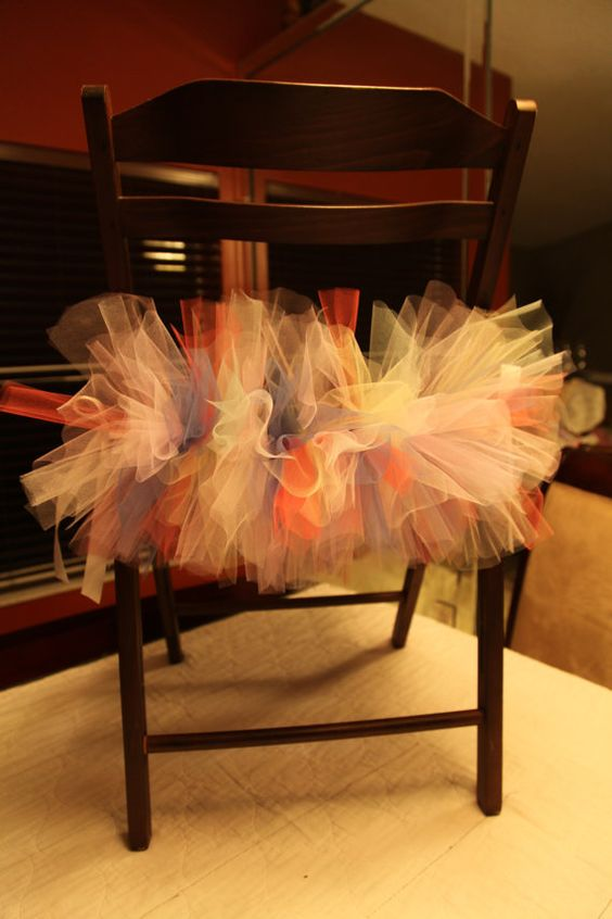 chair tutus by HOOTAMAMA on Etsy, $2.50