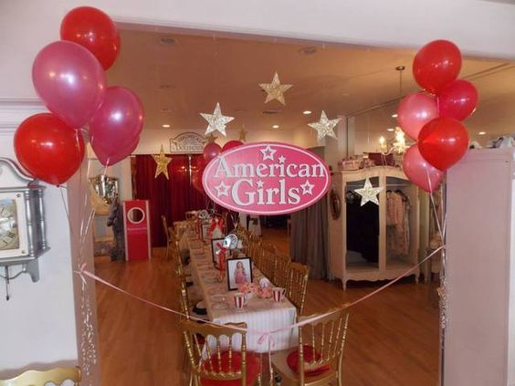 American Girl Tea Party | CatchMyParty.com