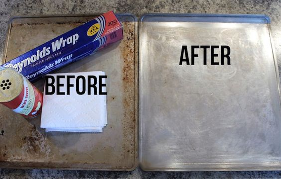 Over time, our muffin tins, cookie sheets, and baking pans will wear down. Rather than replace these trusty tools, learn how to thoroughly clean them.