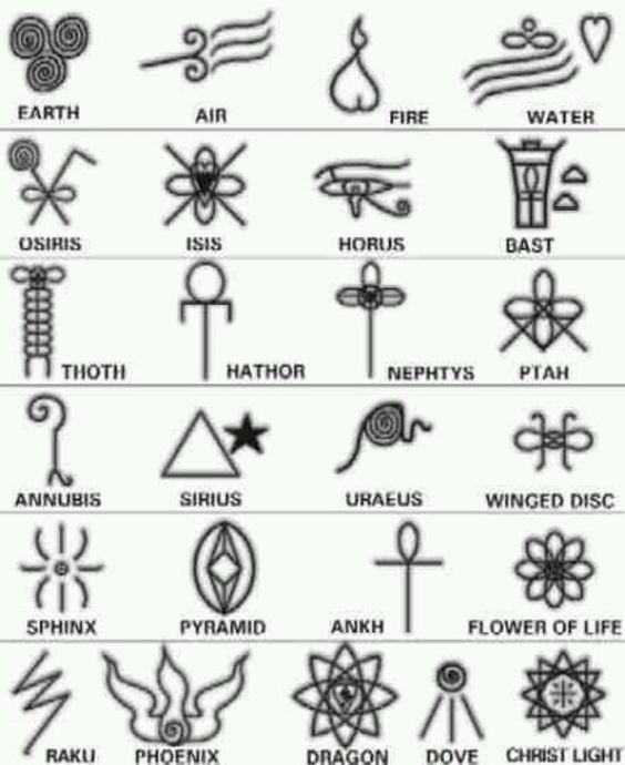 Египетски символи Повече