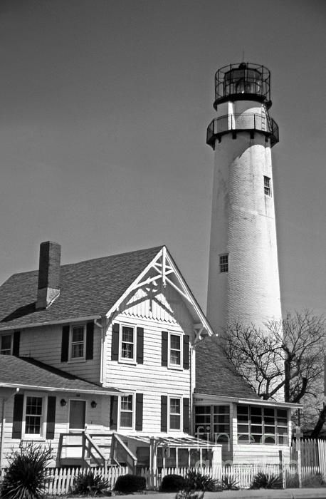 Fenwick Island lighthouse in DE.