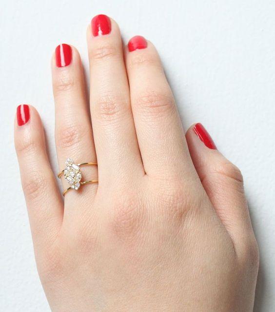 Vena Amoris Ring, available now. #catbirdwedding
