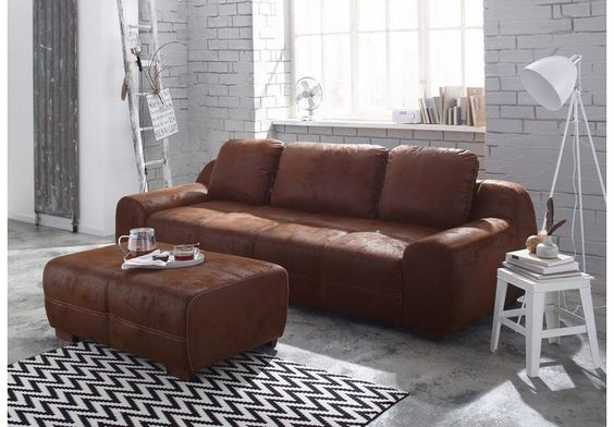 Home affaire Big-Sofa »Banderas« auch mit Bettfunktion