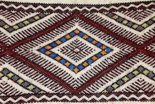 Saw منشر Weaving Bohemian Rug Traditional