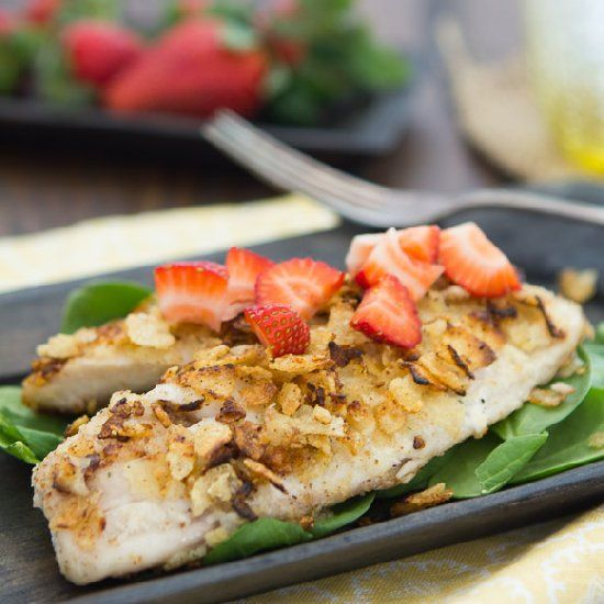 ... easier. | fish: tilapia | Pinterest | Crusted Tilapia, Kettle and M