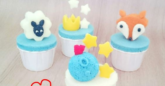 blueberry chiffon cupcakes