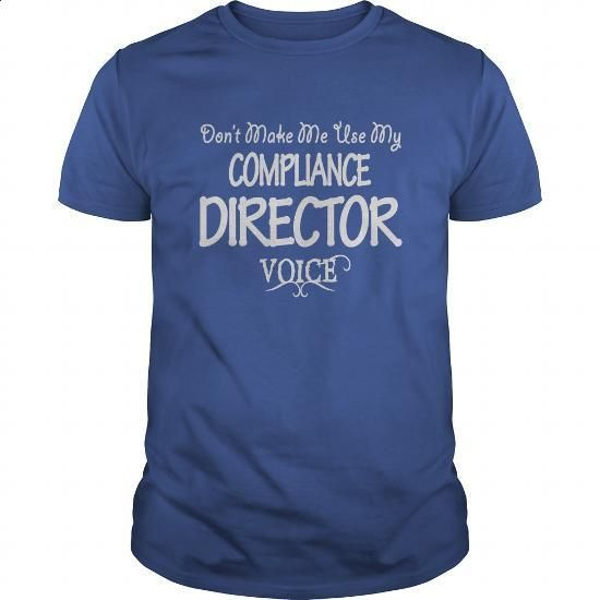 Compliance Director Voice Shirts - #men t shirts #hoodie sweatshirts. CHECK PRICE => https://www.sunfrog.com/Jobs/Compliance-Director-Voice-Shirts-Royal-Blue-Guys.html?id=60505