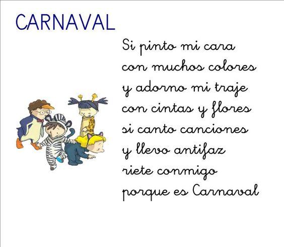 Poes a de carnaval para infantil rimas y poes as for Buscador de poemas
