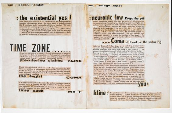 Explore 'Text collages by J G Ballard, c. 1958', on the British Library's…
