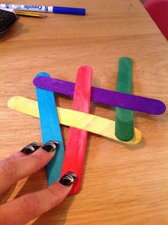 An Ordinary Life : Science: Chain reaction lolly sticks!: