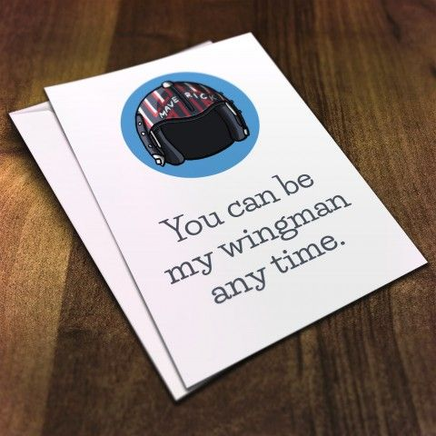 Top Gun Greetings Card #chayground #notableandquotable #film #quote #greetingscard #hollywoodhats #hat #hollywood