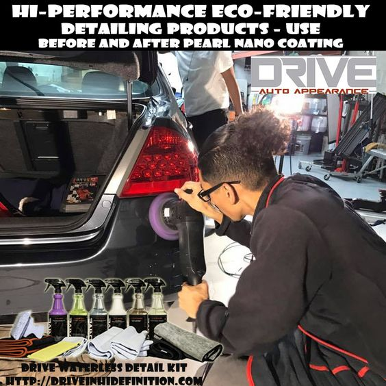 What is The Best product to Use to Prep your Car Before Ceramic Coating? Drive Auto Appearance System  gives  a complete waterless car wash kit perfect to use in preping your car before you coat with Pearl Nano Coating. Buy Wholesale and Retail: Sales@DriveinHiDefinition.com. Call (888) 731-4035 for a Sales Rep to Contact You. Visit http://driveinhidefinition.com/