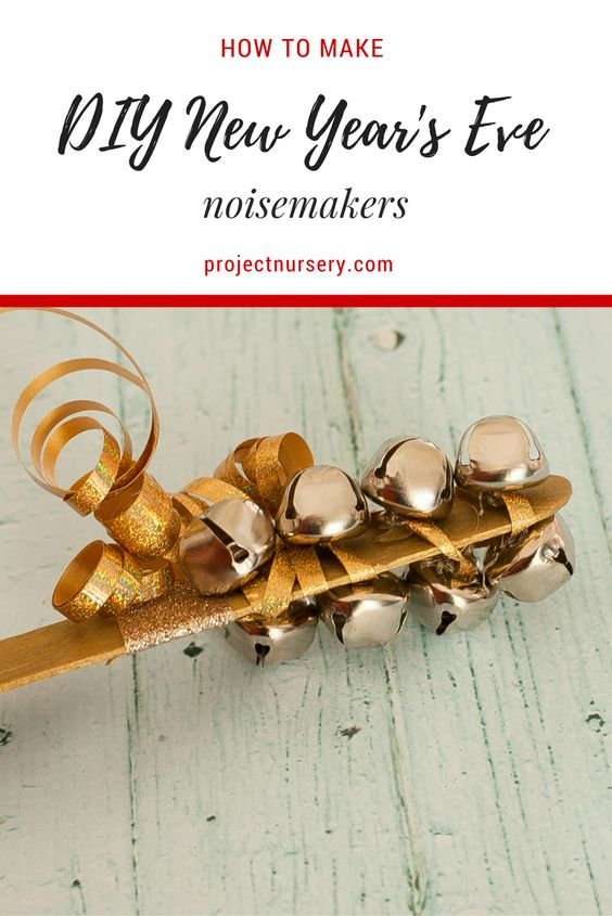 How to make DIY noisemakers for New Year's Eve