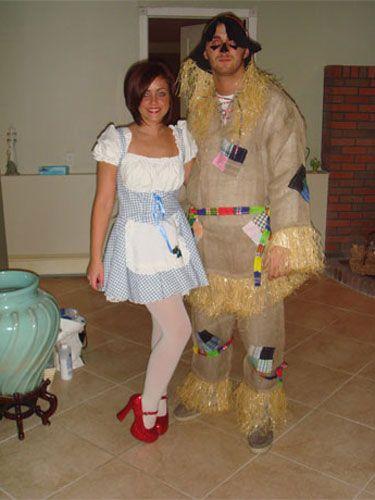 58 Adorably Cheesy Couple\u0027s Halloween Costumes Halloween costumes - cheap funny halloween costume ideas