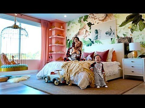 Revealing Elle And Alaias New Bedroom Extreme Room Makeover Youtube Room Makeover Bed For Girls Room Room Ideas Bedroom