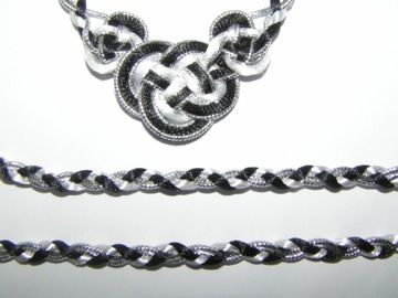 Celtic Handfasting Cord Silver