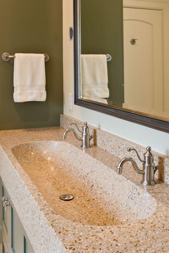 8 best images about Bathrooms on Pinterest Trough sink, Concrete
