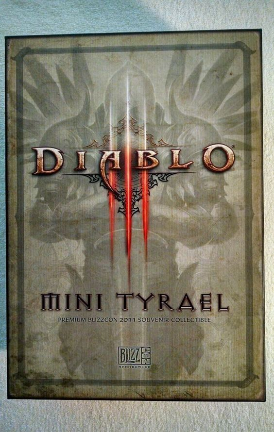 NEW Mini Tyrael Blizzcon 2011 - Sealed in Box