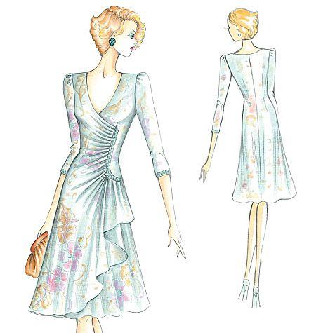 Marfy Dress:
