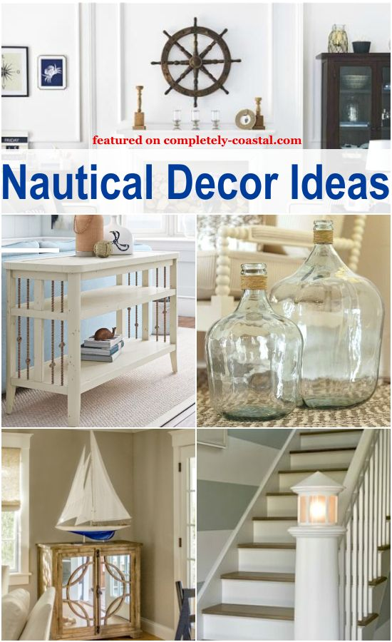 Love The Sea Nautical Decor And Interior Design Is All About