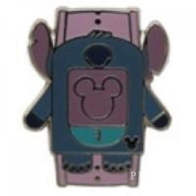 WDW - 2014 Hidden Mickey Series - Character MagicBands - Stitch - Pin 102264