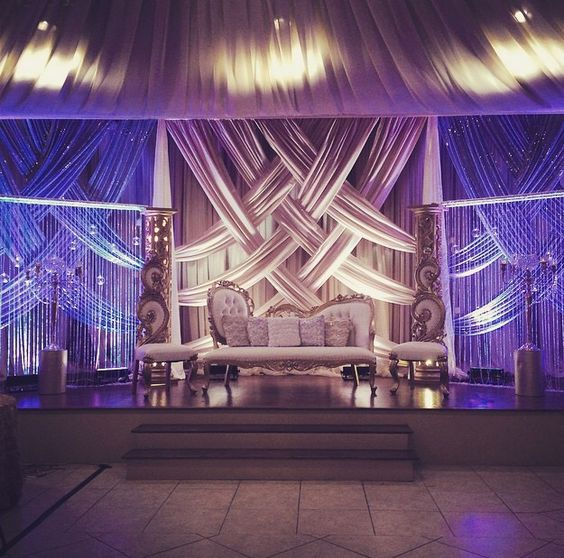Reception Inspiration For Indian Wedding Decorations In The Bay Area California Contact RampR