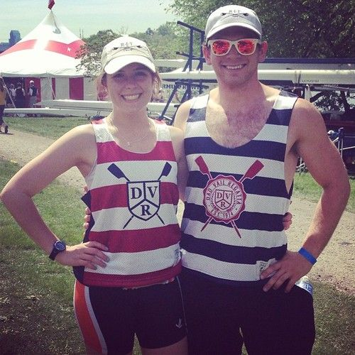 They're rowing for #RIT #rochesterinstituteoftechnology at the #dadvailregatta wearing #league91 sold out pinnies!