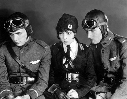 Wings | Kanatlar: Film Stars, Silent Film, Vintage Photos, Classic Movies, Bow Charles, Silent Stars, Clara Bow