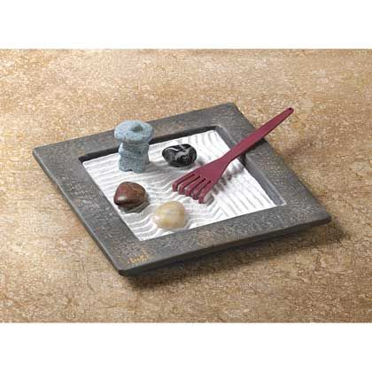 zen gardens mini zen garden and zen on pinterest. Black Bedroom Furniture Sets. Home Design Ideas