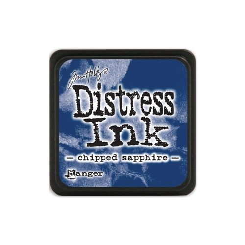 Tim Holtz Distress Mini Ink Pad CHIPPED SAPPHIRE Ranger
