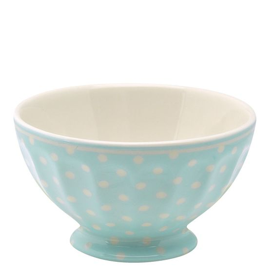 GreenGate Spot French Bowl Pale Blue Large