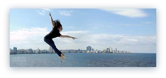 Bailarina: Amaya Rodríguez. Foto: Gabriel Davalos