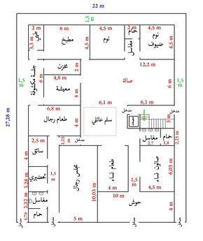 تخطيط منزل مساحة 600 بحث Google House Layout Plans Model House Plan House Layouts