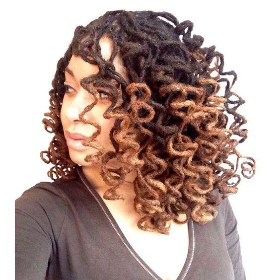 Eye-catching #locs #naturalhair Loved By NenoNatural! #curlyhair #kinkyhair #nenonatural #vlogger #blogger #hairblogger