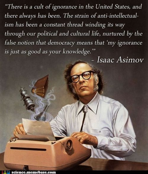 A few words from Isaac Asimov