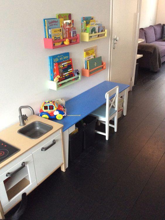Speelhoek woonkamer Ikeahack   Ons huis   Our home   Pinterest