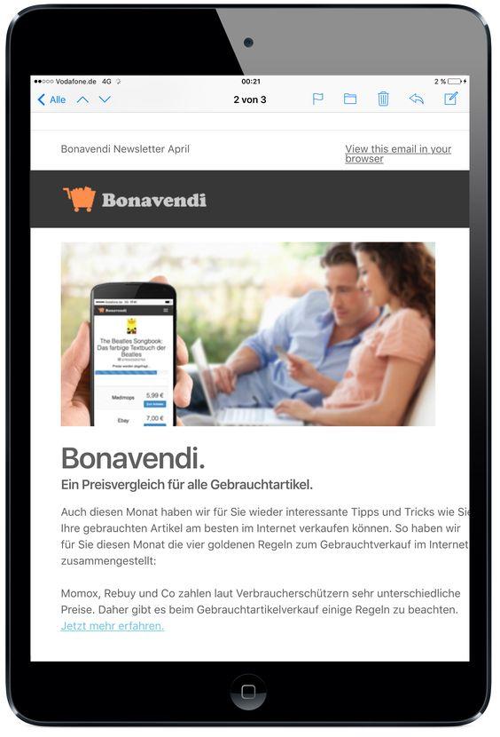 Bonavendi Verkaufskorb