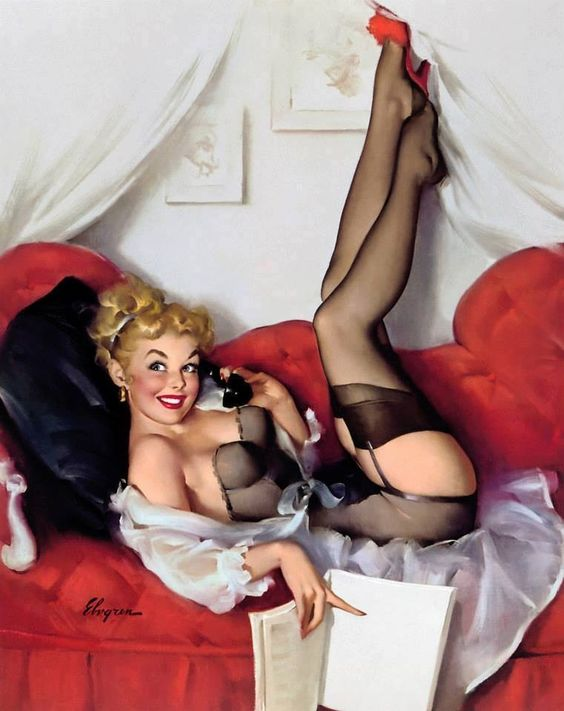 Pinup girl: