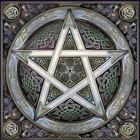 Pentagrama poderoso s mbolo de protecci n estrella de 5 for Cataleg punts estrella
