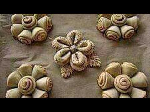 طريقة تشكيل المعجنات الرمضانية How To Make Best Ramadan Pastries Pastry Bread Bun Ramadan