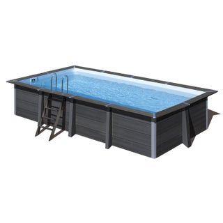 Piscine Composite Gre L 6 06 X L 3 26 X H 1 24 M Leroy Merlin Rectangle Pool Swimming Pools Swimming Pools Backyard